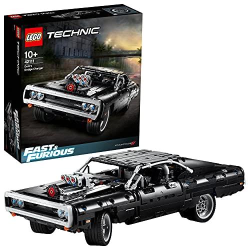 LEGO Technic - Fast & Furious Coche Dodge Charger de Dom, Maqueta del Coche de Toretto, Set de Construcción (42111)