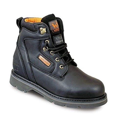 Wood World , Chaussures de sécurité pour homme Noir noir 37.5