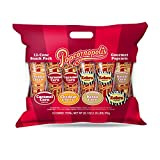 Popcornopolis Gourmet Popcorn 12 cone snack pack by Popcornopolis