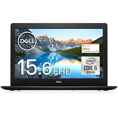 【MS Office Home&Business付き】Dell ノートパソコン Inspiron 15 3593 Core i5 ブラック 21Q12HBB/Windows 10/15.6 FHD/8GB/512GB SSD