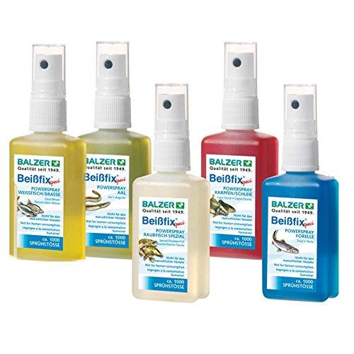 Balzer Beißfix Power Spray - Lockstoff für Fische 50ml, Geschmack:Forelle