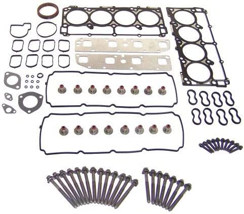 DNJ Head Gasket Fixed price for sale Set with Max 43% OFF Bolt R Kit Dodge 2003-2006 For