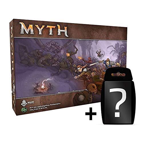 Myth - Grundspiel - Basisspiel Brettspiel Deutsch | DEUTSCH | Set inkl. Kartenspiel