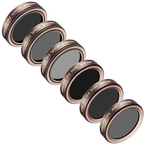 Neewer Filtre de Lentille Kit de 6 pour DJI Phantom 4 Pro, Multi-Couché, Verre Haute Définition et...