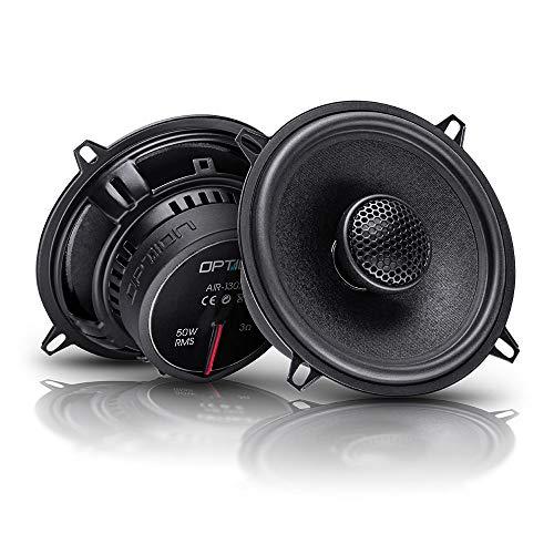 OPTION AIR 130x - 13cm 2-Wege Koaxial Lautsprecher-System - 25mm Hochtöner mit...
