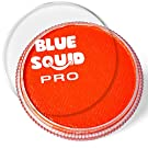 Blue Squid PRO Face Paint - Classic Orange (30gm), Superior Quality Professional Water Based Single Cake, Face & Body Makeup Supplies for Adults, Kids & SFX