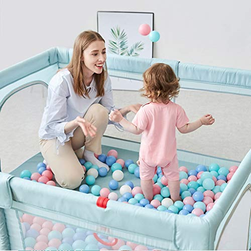 Buy Discount Playard Kids Safety Playpen Breathable Waterproof Mesh Multiple Use for Pet Fence Helpf...