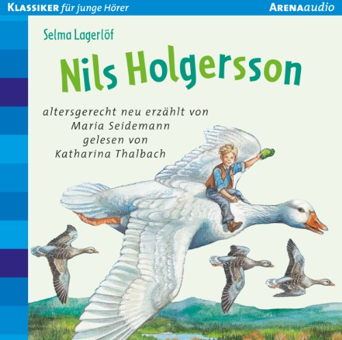 Nils Holgersson audiobook cover art