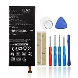 SwarKing Batería de repuesto compatible con LG X Cam X-Cam K580 K580Y F690 K580DS BL-T23 con kit de herramientas.