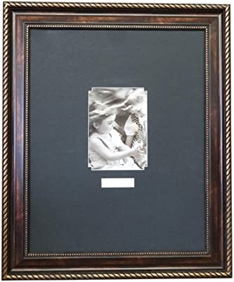 Amazoncom Snap 11x14 Black Wall Picture Frame With Single White