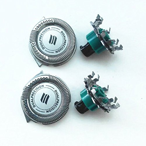 Zhuhaitf Pack of 2 Shaving Blades Shavers Head Cutters Net pour Hommes for Philip RQ1180 RQ1160CC RQ1180CC RQ1131 RQ1160X RQ1168 RQ1180X RQ1141