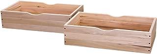 Rolling Under Bed Storage Drawer - Set of 2