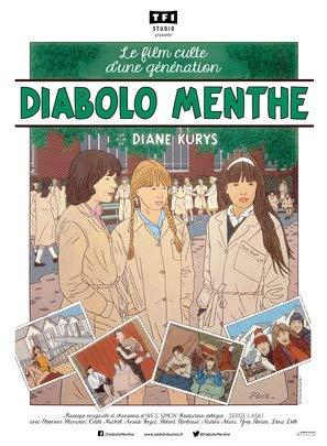 Peppermint SODA – Französisch Film Poster Plakat Drucken Bild - 43.2 x 60.7cm Größe Grösse Filmplakat Diabolo Menthe