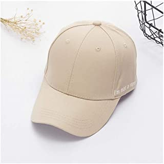 Hats Spring Sun Hat Unisex Outdoor Letter Baseball Cap Summer Personality Embroidered Duck Hat Fashion (Color : Beige, Size : F)