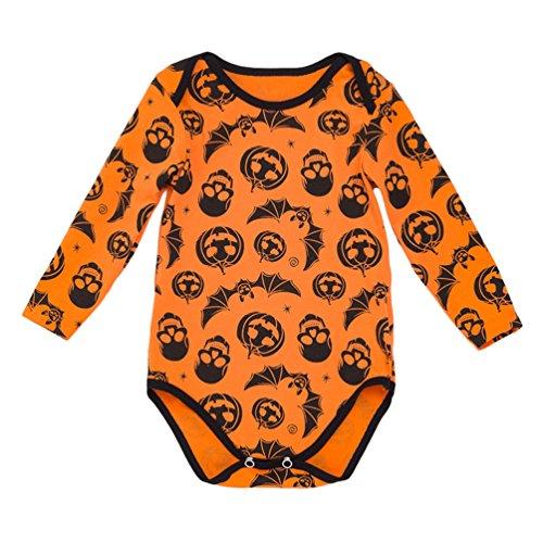 Anguang Beb Chicas Tut Mameluco Conjuntos Impreso Halloween Disfraz Mono Equipar Fiesta Lujoso Vestir Estilo 2 59