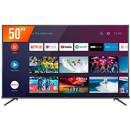 """Android TV LED 50"""" TCL P8M Ultra HD 4K HDR"""