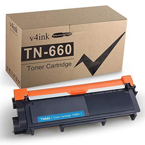 V4INK - Cartucho de tóner compatible TN660 para Brother TN660 TN630 para uso en HL-L2340DW...