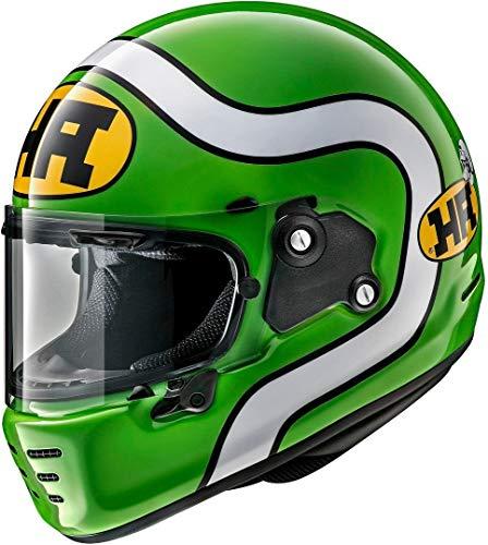 ARAI Helmet Concept-X Ha, verde y blanco, M