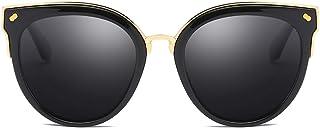 Cyxus Cateye Gafas de sol Mujer Polarizadas Lente Protección UV Conduciendo Gafas de sol para pescar Montar al aire libre