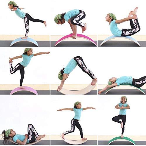 Yoga con tabla curva PUDDINGT