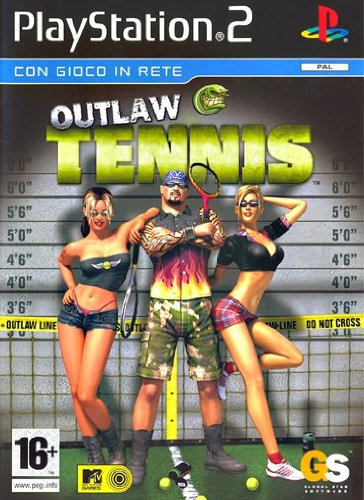Outlaw Tennis 2-(Ps2)