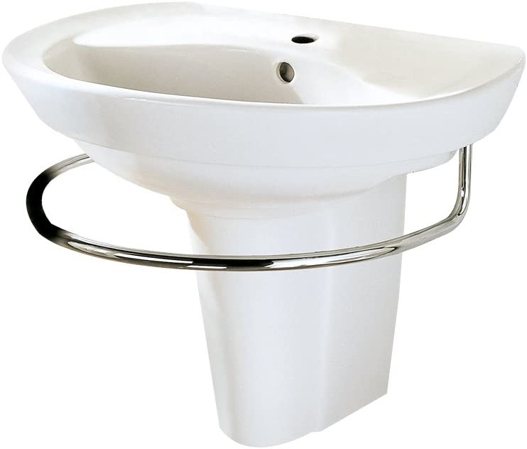 American Standard 0268.144.020 Ravenna Pedestal New mail order Manufacturer OFFicial shop Wall-Mount Sink