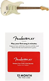 Fender Road Worn 60's Stratocaster Electric Guitar - Pau Ferro Fingerboard - Olympic White With 12 Months Guitar Lesson Gift Card