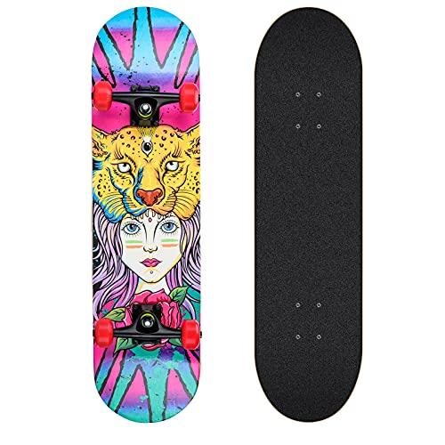 Completo Skateboard per Principianti, Giovani e Adulti. skateboard adulto. 31