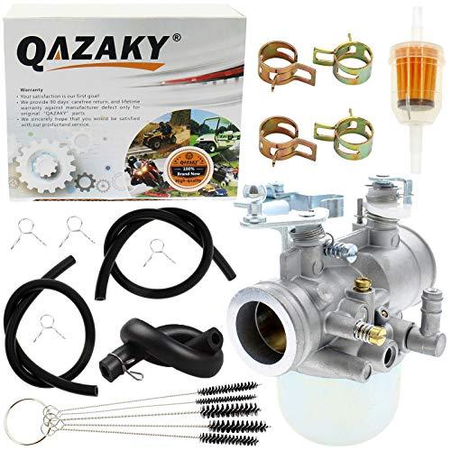 QAZAKY Carburetor Compatible with Yamaha G1 Gas Golf Cart Club Car 2-Cycle 2-Stroke Engine Carb J24-14101-01 J24-14101-00 1983 1984 1985 1986 1987 1988 1989