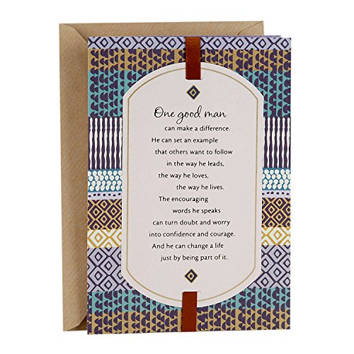 Hallmark Mahogany Father's Day Card (You're a Good Man Who Makes a Big Difference)