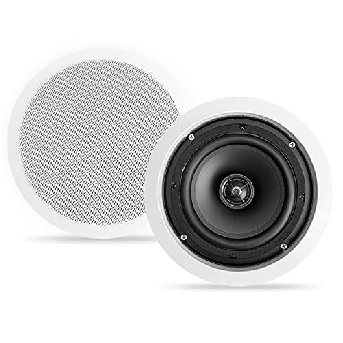 "CT Sounds Bio 6.5"" 2-Way Weatherproof in-Ceiling Speakers (Single) - Home Theater, Outdoor Kitchen, Patio Speakers"