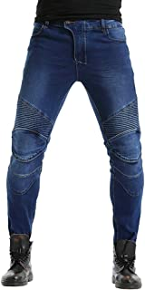elasticizzati colore: nero 8003. OneDaymore dritti Jeans da moto rinforzati in aramide