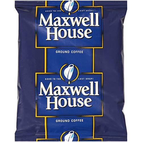 Maxwell House Medium Roast Ground Coffee (1.5 oz Bags, Pack of 42)
