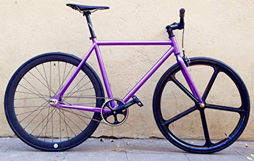 MOWHEEL Bicicleta Violette monomarcha Single Speed Talla-54cm