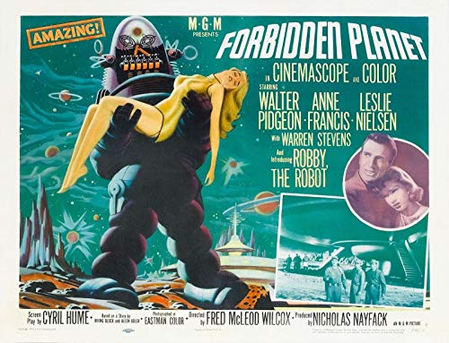 72766 Forbidden Planet Movie Rare 50's Horror Sci Fi Decor Wall 16x12 Poster Print