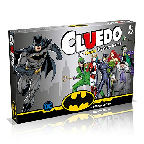 Batman Cluedo Mystery Juego de Mesa