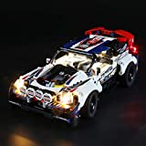 BRIKSMAX Led Lighting Kit for Technic App-Controlled Top Gear Rally Car - Compatible with Lego 42109 Building Blocks Model- Not Include The Lego Set