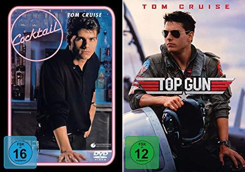 Tom Cruise 2-Filme Collection: Top Gun + Cocktail