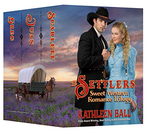 The Settlers: Christian, Western Romance Trilogy (English Edition)