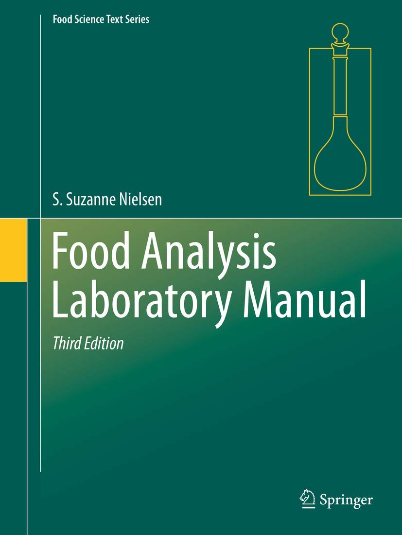 Download Food Analysis Laboratory Manual 