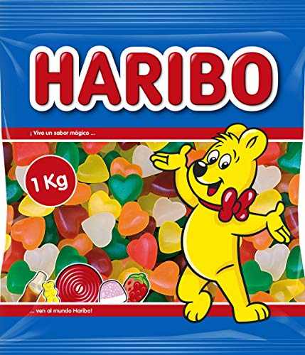Haribo Corazones Tiernos Caramelos de Goma - 1000 gr