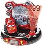Disney Cars 3 Despertador Proyector Alarm Clock para Niños