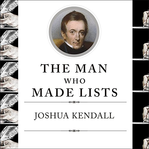 The Man Who Made Lists audiobook cover art