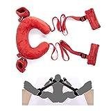Cuscino - Sports Stretch Pillow, Stretch Stretching (Red)