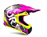 TORX Casque Cross Moto MARVIN EYES, Rose, Taille L