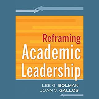Reframing Academic Leadership audiobook cover art