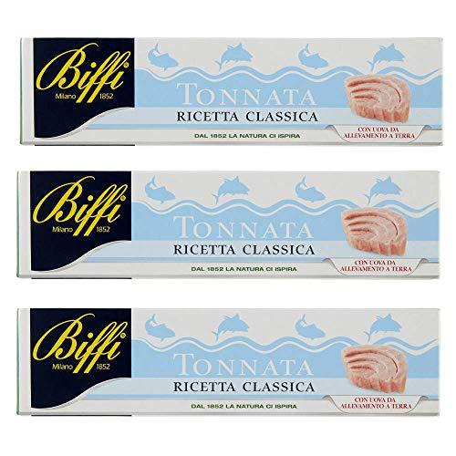 Biffi - Salsa Tonnata In Tubetto - Multipack (3x150ml), 150 g - Confezione da 3