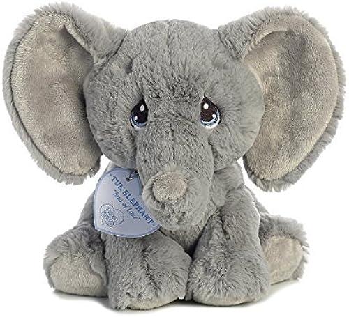 calidad auténtica Tuk Elephant 8 inch - - - Baby Stuffed Animal by Precious Moments (15704) by AURORA  ventas directas de fábrica