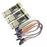 KKHMF 3個 CH340モジュール STC マイクロ コントローラー ダウンロード USBターンTTLシリアル
