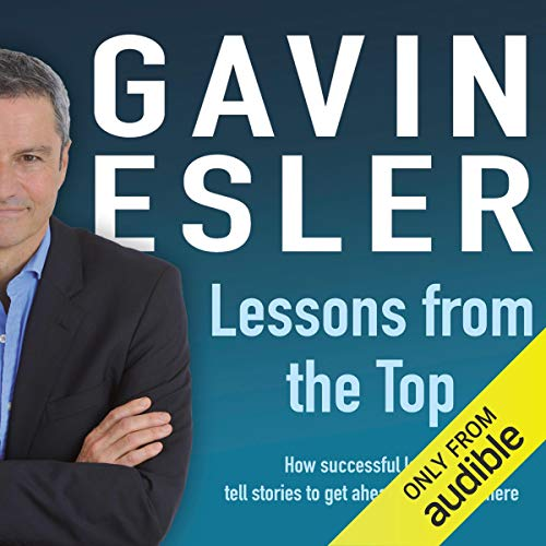 Lessons from the Top audiobook cover art